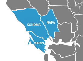 Proudly Serving Sonoma, Napa, and Marin Counties.